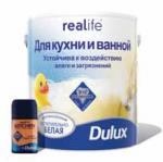 Водоэмульсионная краска для кухни и ванной Дюлакс 2.5 л