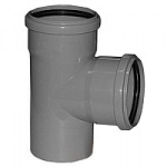 Тройник канализационный 110х110 мм 90 градусов