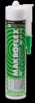 Герметик нейтральный силиконовый белый makroflex nx108 туба 300 мл