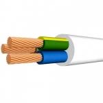 Медный провод соединительный гибкий ПВС 3х4