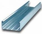 Профиль направляющий ПН-4 размеры 75х40 длина 3м Кнауф