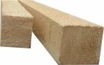 Брусок деревянный 50х50 (не строганный) длина 3000 мм