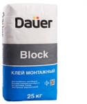 Клей монтажный dauer block для пеноблоков 25 кг