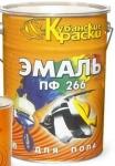 Эмаль для пола ПФ 266 красно-коричневая 20 кг