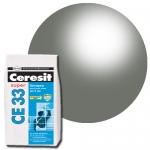 Церезит 33 затирка водостойкая Антрацит 2 кг