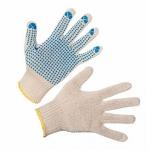 Перчатки трикотажные с точечным полимерным покрытием