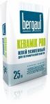 Плиточный клей Бергауф Керамик Про усиленный