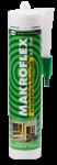 Герметик силиконовый makroflex ax104 универсальный белый 300 мл