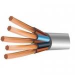 Медный провод соединительный гибкий ПВС 5х1.5