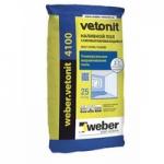 Вебер ветонит 4100 наливной пол 25 кг