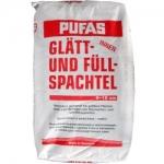 Пуфас Глатт шпаклёвка белая гипсовая 25 кг
