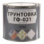 Грунтовка по металлу гф 021 красно-коричневая 2.7 кг