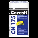 Церезит cn 175 ровнитель цементная стяжка 25 кг