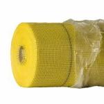 Малярная сетка фасадная 5х5 мм 145г/м2 (35м.) жёлтая