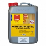 Антисептик неомид 450 огнебиозащита 2 группа красная 20 кг