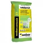 Сухая штукатурка Ветонит TT weber vetonit цементная 25 кг