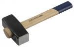 Кувалда строительная с деревянной ручкой