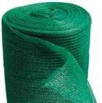 Сетка строительная фасадная защитная зелёная 32гр/м2 размеры 2.4х50 м