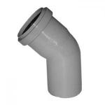 Отвод канализационный 110 мм 45 градусов