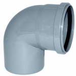Отвод канализационный 50 мм 90 градусов