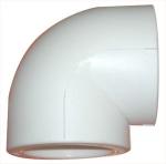 Уголок 90 градусов полипропилен диаметр 25 мм