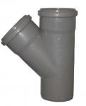Тройник канализационный 110х110 мм 45 градусов