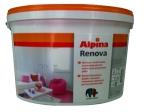 Водоэмульсионная интерьерная краска Альпина Ренова 10 л
