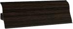 Плинтус напольный пластик Декопласт decoplast 2.5м цвет Венге