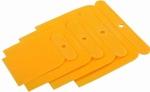 Шпатели пластмассовые набор 50-80-100 мм