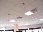 Потолок подвесной типа армстронг с плитой Лотос в сборе кв.м.
