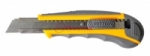 Нож малярный усиленный с выдвижным лезвием 25 мм