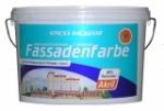 Водоэмульсионная фасадная акриловая краска фасаденфарбе 14 кг