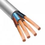 Медный провод соединительный  гибкий ПВС 4х2.5