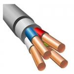 Электрический кабель медный силовой NYM 4х4