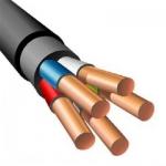 Электрический кабель силовой с медными жилами ввгнг ls 5х10
