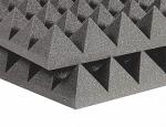 Звукоизоляция акустический поролон пирамида flexakustik pir 70