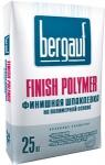 Сухая шпаклёвка Бергауф финиш полимер финишная 25 кг
