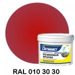 Резиновая краска Оптимист, вишнёвая 4.5 кг