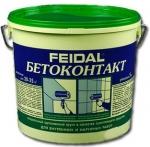 Грунтовка акриловая бетоконтакт Файдаль 20 кг
