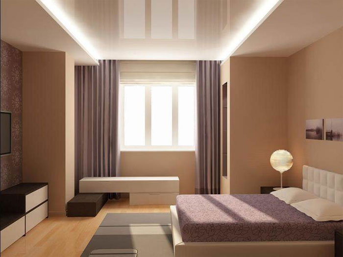 дизайн зала в частном доме