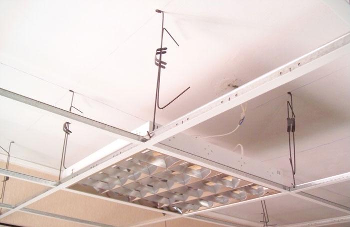 Армстронг подвесной потолок своими руками видео