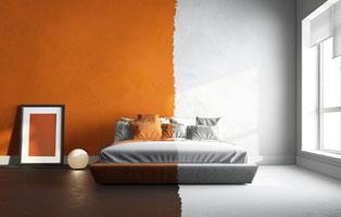 Водоэмульсионная краска для стен, какая лучше, каким валиком красить.